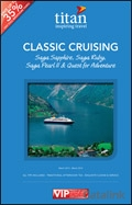 Titan Travel: Saga Cruising brochure cover from 09 August, 2013