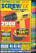Screwfix Direct catalogue cover from 09 September, 2003