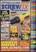 Screwfix Direct catalogue cover from 08 September, 2004