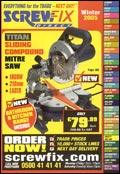 Screwfix Direct catalogue cover from 09 December, 2005