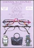 Essential Accessories and Spectacular Spectacles catalogue cover from 21 September, 2005