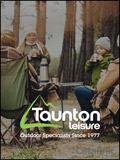 Taunton Leisure Outdoor Clothing & Equipment brochure cover from 06 September, 2018
