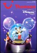 Thomson Disneyland Resort Paris brochure cover from 21 September, 2006