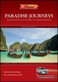 Titan Travel: Paradise Journeys brochure cover from 23 February, 2011