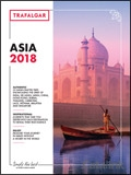 Trafalgar - Asia Holidays 2018 brochure cover from 04 January, 2018