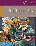TransIndus Holidays - South East Asia brochure cover from 08 November, 2016