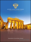 Golden Eagle Luxury Trains - Treasures of Eastern Europe brochure cover from 23 May, 2017