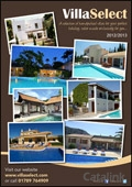 Western & Oriental Travel t/a Villa Select - Fulfilment catalogue cover from 23 July, 2012
