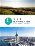 Visit Hampshire brochure cover from 08 February, 2018