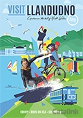 Visit Llandudno brochure cover from 01 August, 2016
