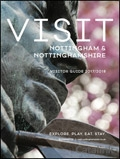 Visit Nottinghamshire brochure cover from 28 March, 2017