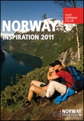 Norway Inspiration brochure cover from 02 August, 2011
