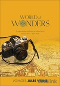 Voyages Jules Verne - World of Wonders brochure cover from 15 May, 2015