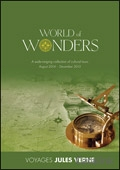Voyages Jules Verne - World of Wonders brochure cover from 23 July, 2014