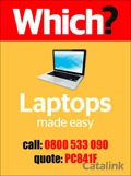 Which? Easy Use Laptops brochure cover from 20 July, 2015