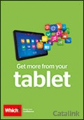 Which? Get More From Your Tablet brochure cover from 15 February, 2016
