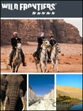 Wild Frontiers Adventure Travel brochure cover from 03 March, 2014