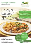 Wiltshire Farm Foods brochure cover from 10 July, 2015