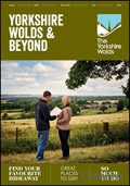 Yorkshire Wolds & Surrounding Area brochure cover from 15 December, 2015