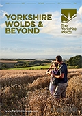 Yorkshire Wolds & Surrounding Area brochure cover from 19 December, 2016