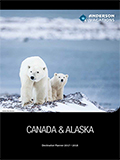 CANADA & ALASKA DESTINATION PLANNER BY ANDERSON  NEWSLETTER