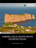 CANADA & USA ESCORTED TOURS BY ANDERSON  NEWSLETTER