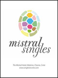 MISTRAL - SINGLES HOLIDAYS IN CRETE BROCHURE