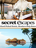 SECRET ESCAPES  NEWSLETTER