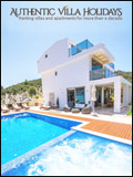 AUTHENTIC VILLA HOLIDAYS  NEWSLETTER