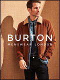 Burton Menswear Newsletter