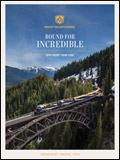 CANADIAN ROCKY MOUNTAINEER TRAVEL BROCHURE