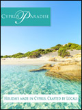 CYPRUS PARADISE - WINTER SUN HOLIDAYS  NEWSLETTER