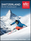 SWITZERLAND TRAVEL CENTRE - SKI & SNOWBOARD BROCHURE