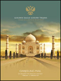 GOLDEN EAGLE LUXURY TRAINS - DARJEELING MAIL BROCHURE