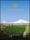 GOLDEN EAGLE LUXURY TRAINS - CASPIAN ODYSSEY BROCHURE