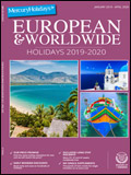 MERCURY HOLIDAYS - EUROPEAN & WORLDWIDE BROCHURE