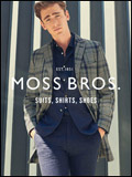 Moss Bros Menswear & Suits Newsletter
