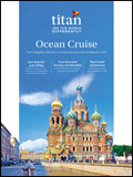 TITAN TRAVEL CRUISE COMPENDIUM BROCHURE