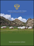 GOLDEN EAGLE LUXURY TRAINS - TRANS-MONGOLIAN EXPRESS BROCHURE