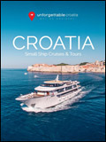 UNFORGETTABLE CROATIA - CRUISES BROCHURE