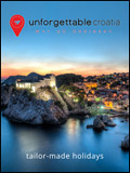 UNFORGETTABLE CROATIA TAILOR-MADE HOLIDAYS  NEWSLETTER